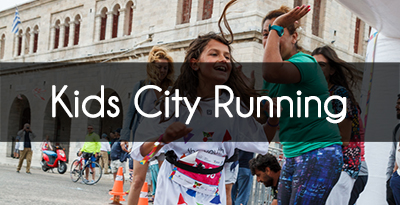 Kids city running